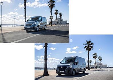 Nieuwe Renault Master en Trafic