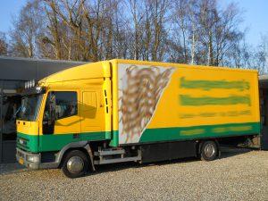 Zij voor Iveco Vrachtwagen