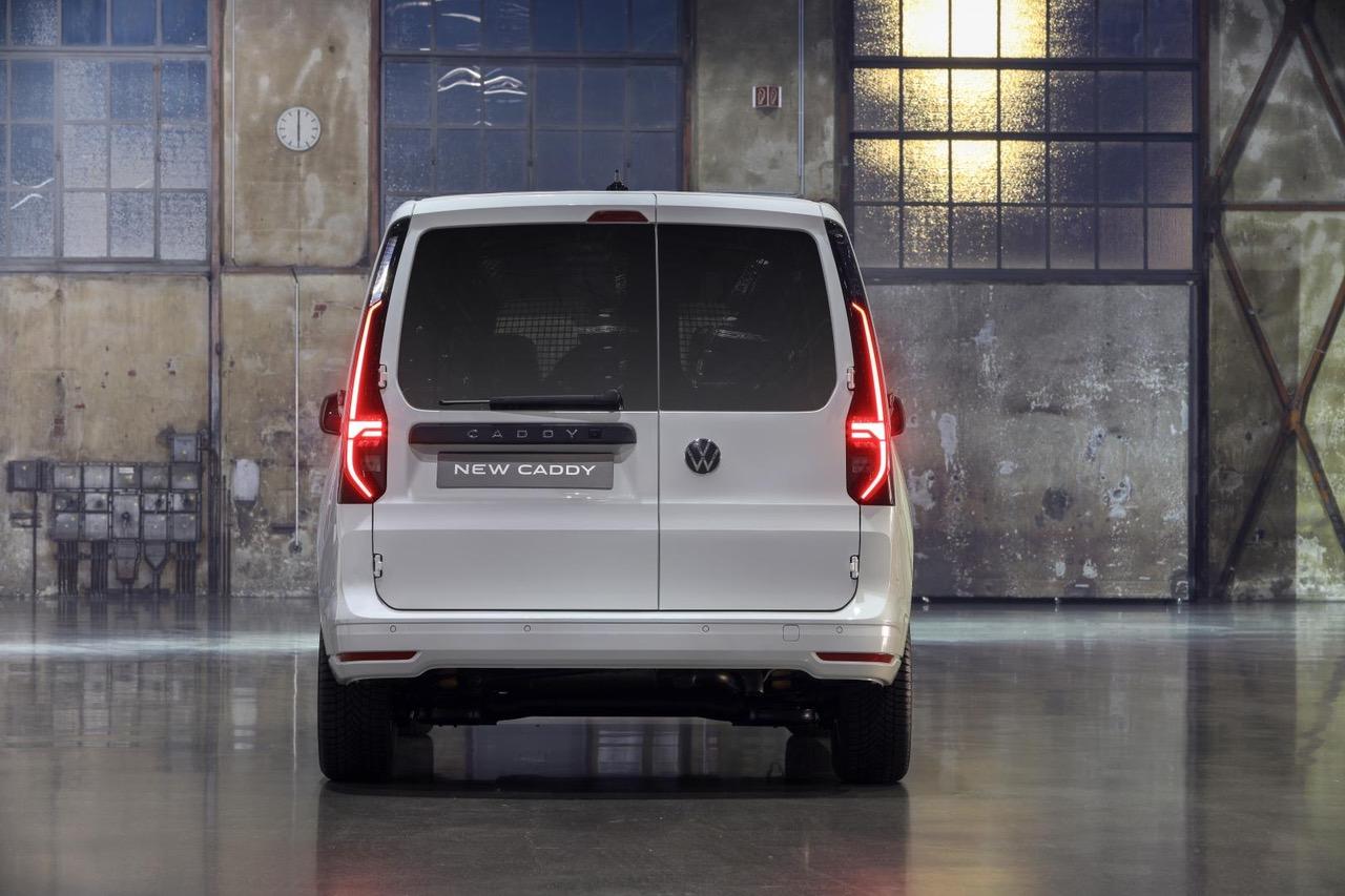De nieuwe VW Caddy staat nu op het MQB-platform